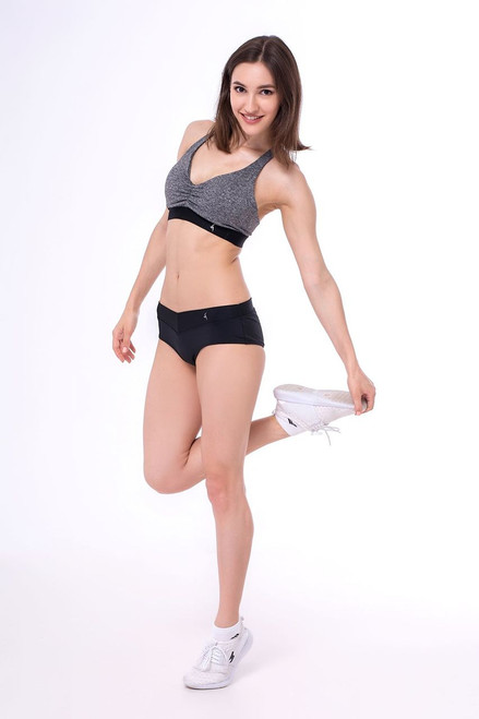 Pole Dance Shorts Sophia Black