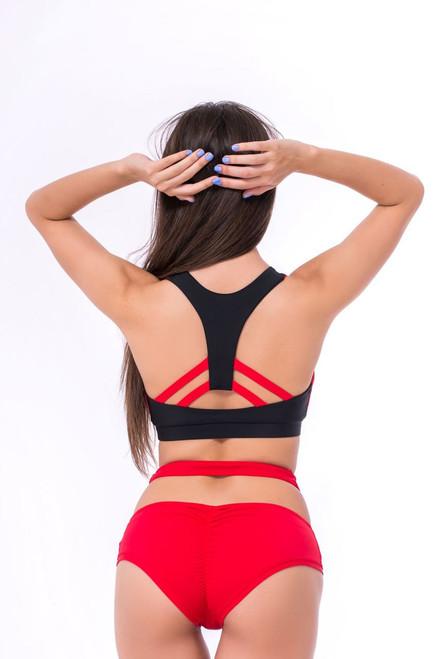 Workout Shorts Elizabeth Red