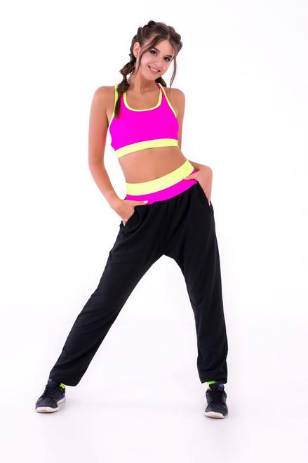 Pole Dance Track-Pants Peyton Black