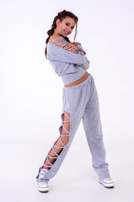 Pole Dance Sweatshirt Kaylee Grey