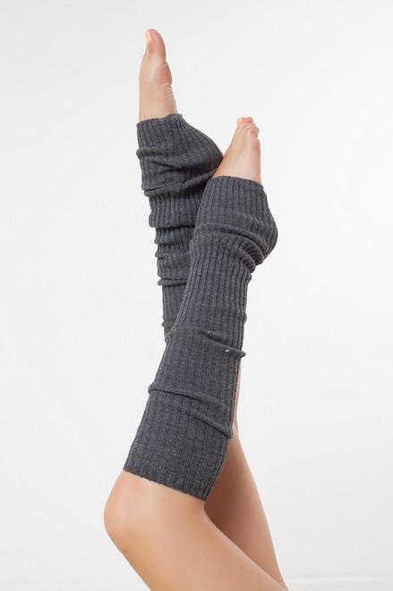 Dance Leg Warmers Grey 90cm