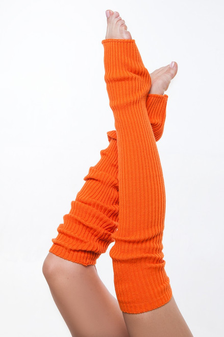 Dance Leg Warmers Carrot 90cm