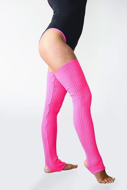 Dance Leg Warmers Pink 90cm