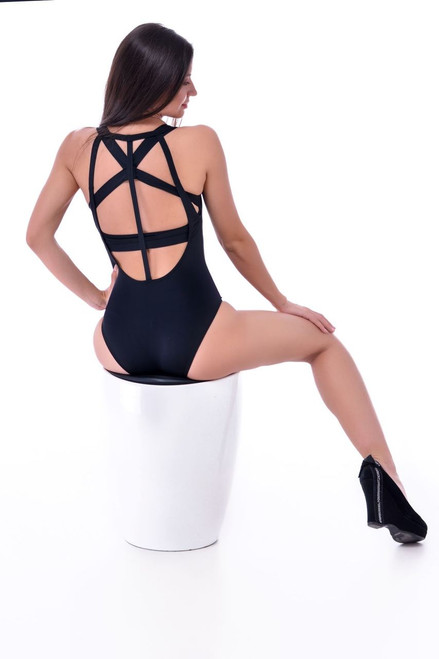 Pole Dance Bodysuit Julia Black
