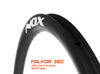 Nox Falkor 36D Disc Brake Carbon Clincher Rim