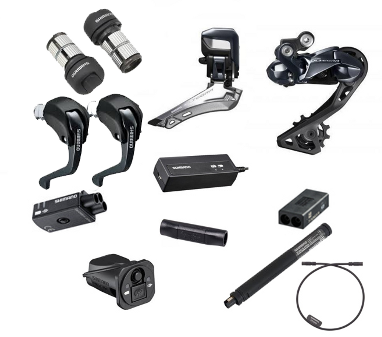 Shimano Ultegra 8050 Di2 TT/Tri Upgrade Kit - Glory Cycles on lights wiring diagram, telephone junction box wiring diagram, road wiring diagram, electronic wiring diagram, bike wiring diagram,