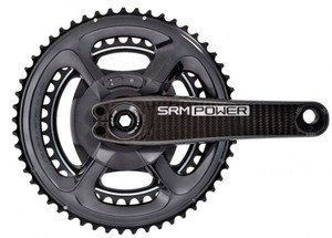 Campy BRAND NEW SRM Campagnolo Standard 4-Bolt Power Meter 145 BCD 53//39