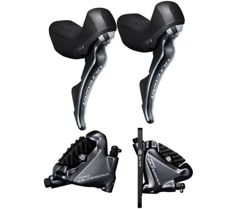 Shimano Ultegra R8020 Mechanical Shifter Hydro Disc Brake Set