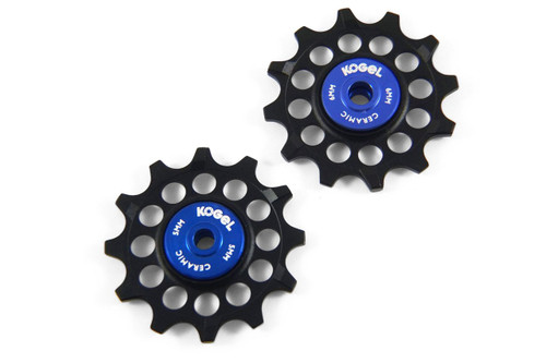 Kogel 12 Tooth Narrow Wide Ceramic Pulleys  Shimano Ultegra and Dura Ace