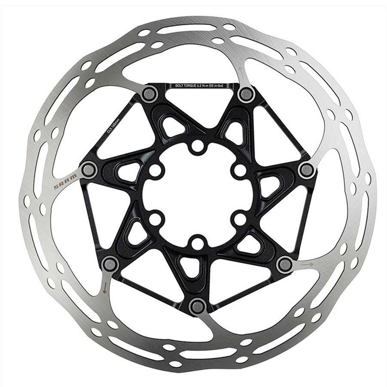 SRAM Centerline 2 Piece 6 Bolt Rounded Brake Rotor