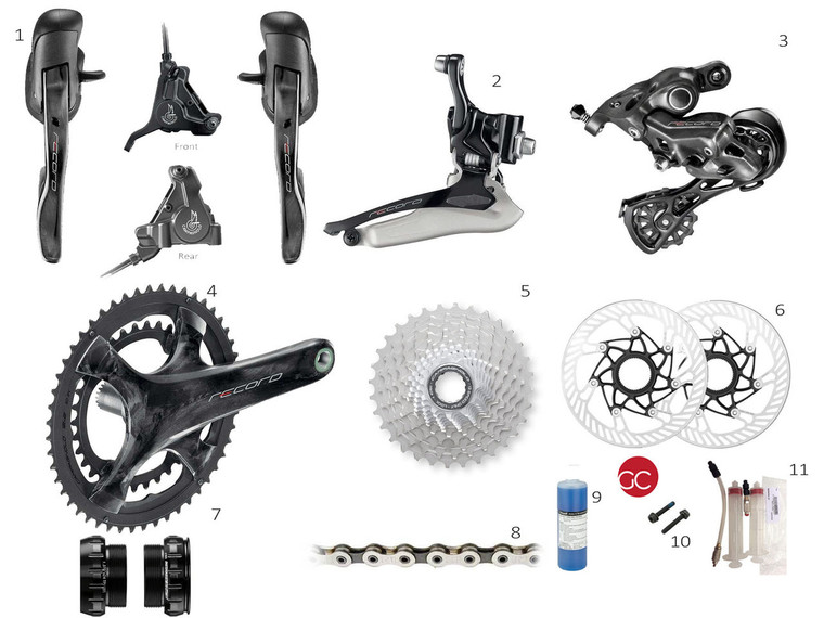 Campagnolo Record 12 spd Mechanical Disc Brake Groupset