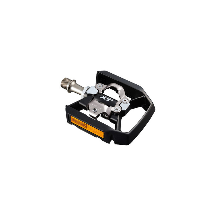 Shimano PD-T8000 DEORE XT with Reflector and platform