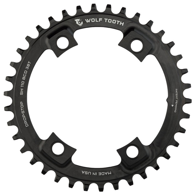 Wolf Tooth 4 x1 10BCD Asymmetric Chainring for Shimano