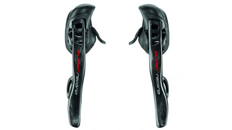Campagnolo Super Record EPS 12 Spd Rim Brake Shifter Pair