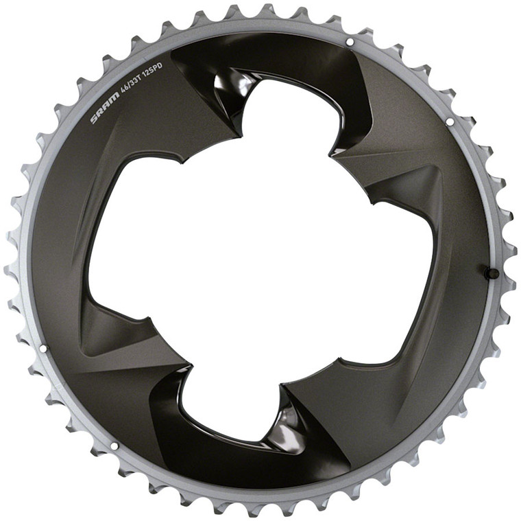 SRAM Force  AXS 2x12-Speed Outer Chainring
