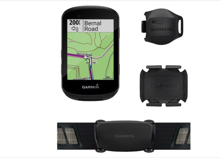 Garmin Edge 530 GPS Cycling Computer Speed/Cadence Bundle