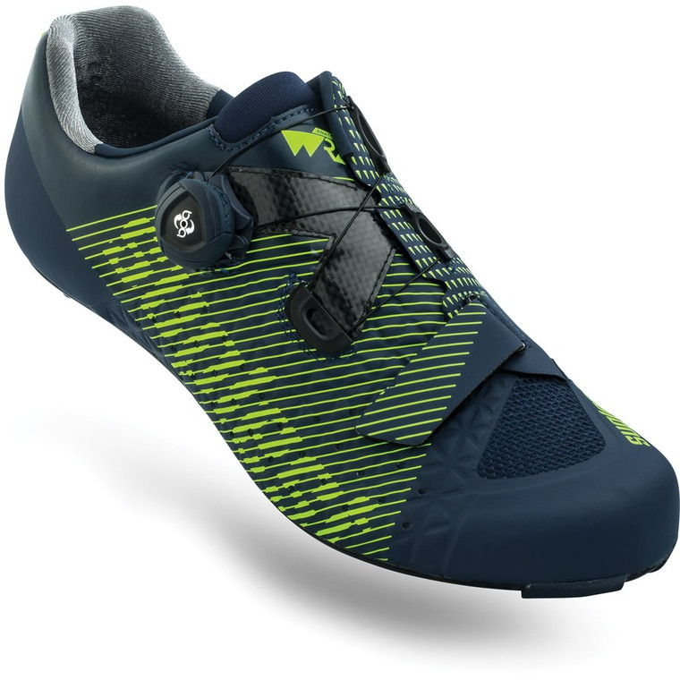 Suplest Edge 3 Road Performance Shoe - Navy Lime
