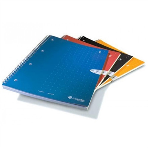 ANA-00017-17 - Single Subject Notebook (large), 4-Pack, Numbers 1-4