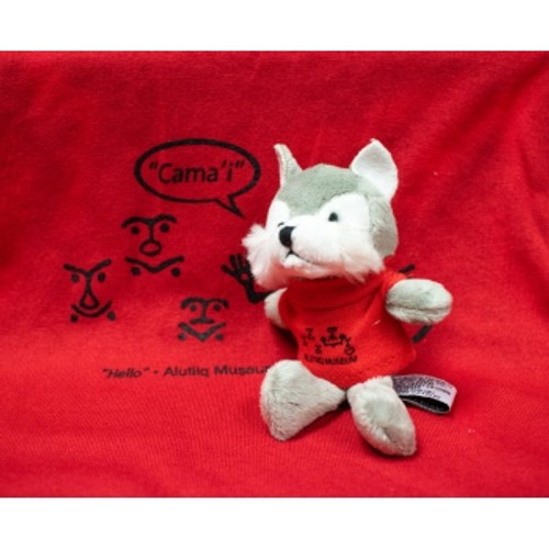 Wolf Toy Red Shirt