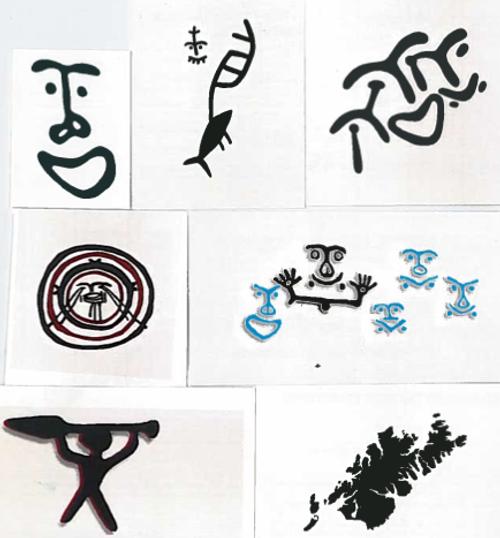Petroglyph Tattoos New