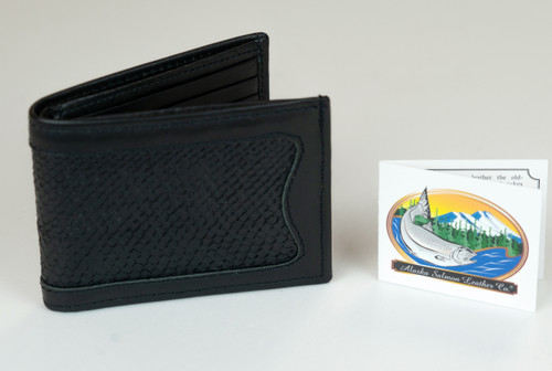 AK Salmon Leather Wallets