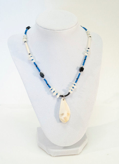 Ivory Mask Necklace