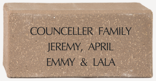 Supporter Brick Text Only