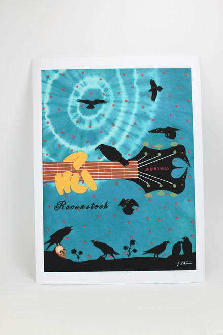 Ravenstock: Unkindness Limited Edition Print