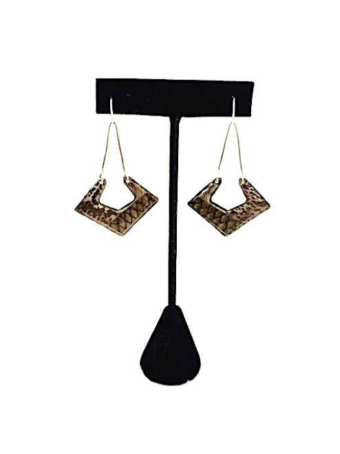 Wild by Nature Earrings- Diamond Shaped