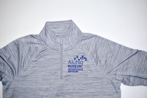 Grey Performance Pullover- Womens