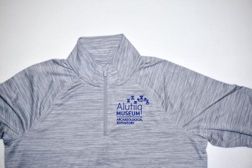 Grey Performance Pullover- Mens