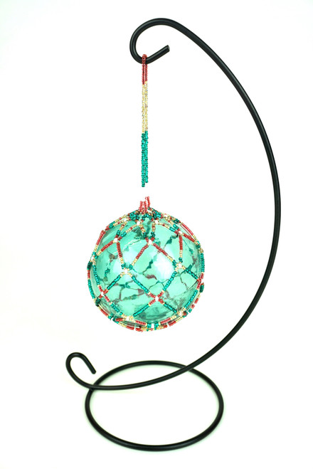 Beaded Glass ball