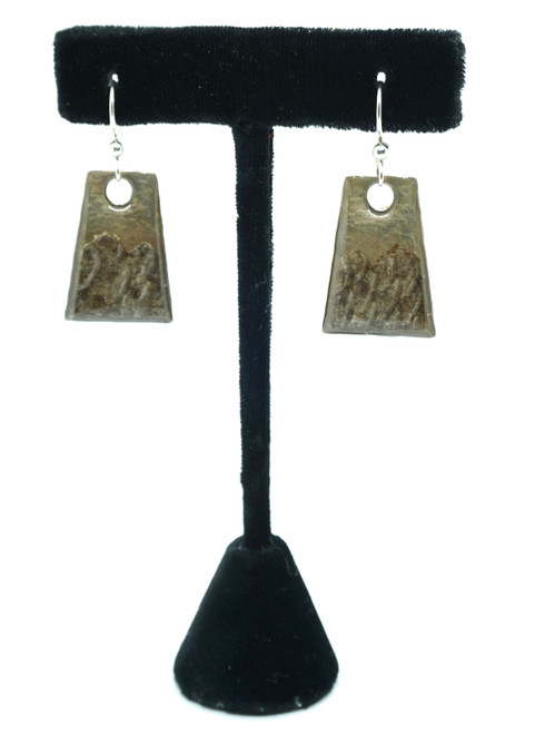 Wild By Nature- Arctic Grayling Trapezoid Earrings