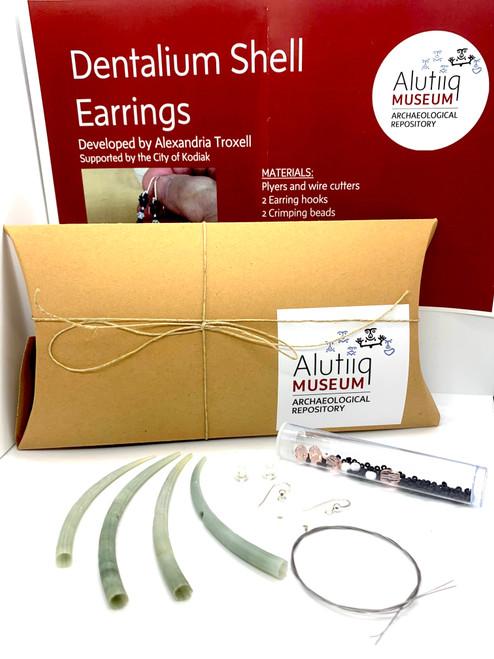 Dentalium Earring Kits