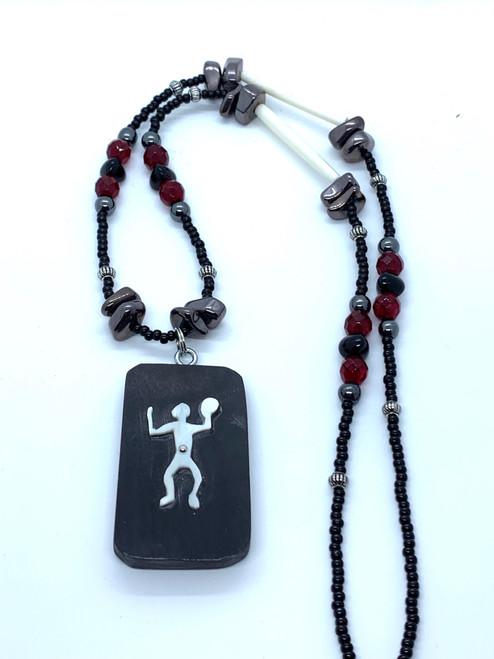Ivory Petroglyph Necklace