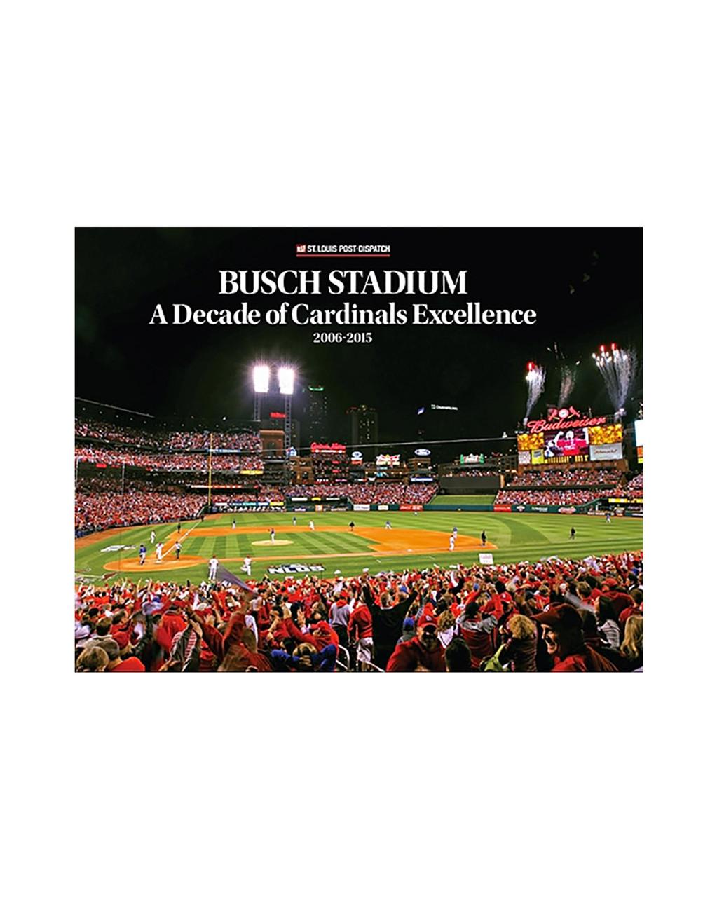 St Louis Cardinals Busch Stadium Final Season Holiday Ornament