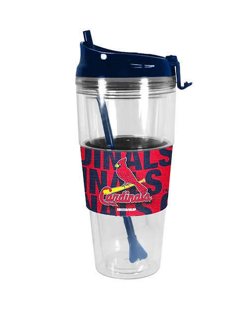 St. Louis Cardinals 28oz Premium Tumbler with Straw