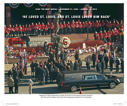 Stan Musial - Baseball's Perfect Knight; 16 page commemorative addendum