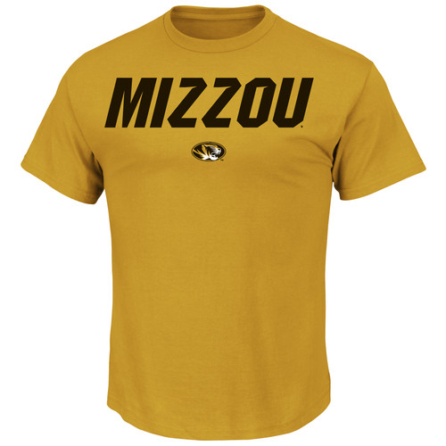 Missouri Tigers Mizzou T-shirt - Gold