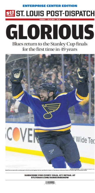 St. Louis Post-Dispatch Back Issue: May 21 Enterprise Center Edition