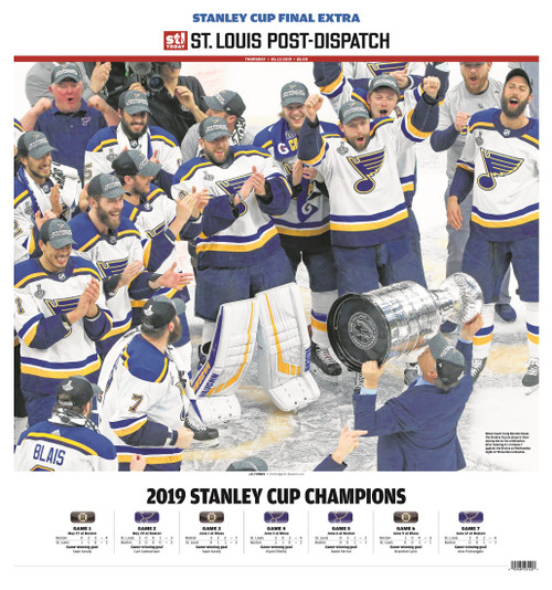 St. Louis Post-Dispatch Front Page Poster for June 13th Extra Extra Edition