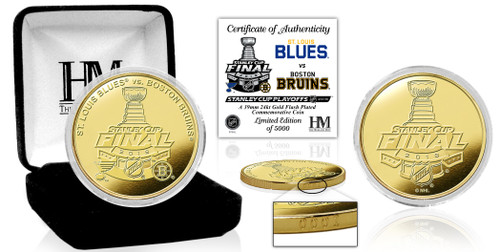 2019 Stanley Cup Final Dueling Gold Mint Coin