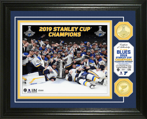St. Louis Blues 2019 Stanley Cup Final Champions Celebration Bronze Coin Photo Mint