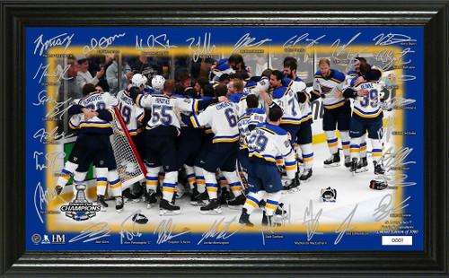 "St. Louis Blues 2019 Stanley Cup Champions ""Celebration"" Signature Rink"