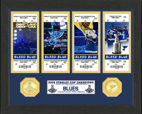 St. Louis Blues 2019 Stanley Cup Champions Ticket Collection