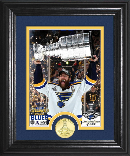 Alex Pietrangelo Stanley Cup Trophy Select Series Bronze Coin Photo Mint
