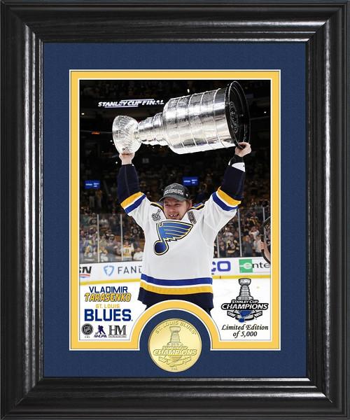 Vladimir Tarasenko Stanley Cup Trophy Select Series Bronze Coin Photo Mint