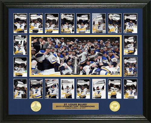 St. Louis Blues 2019 Stanley Cup Champions Memorable Moment Bronze coin Photo Mint
