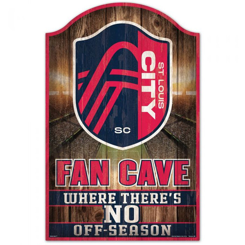 "Put our 11"" x 17"" up in your fan cave or game room, and everyone will know that you are a fan. This hardboard wood sign is 1/4"" thick, and decorated with quality graphics to resemble an antique wood finish. A matte finish laminate top is added for greater durability and a precision cut smooth edge makes this a great indoor decor sign. Made in the USA. Officially licensed."