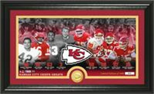 Kansas City Chiefs Greats Bronze Coin Photomint